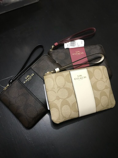 Used Authentic coach wristlet pouch in Dubai, UAE