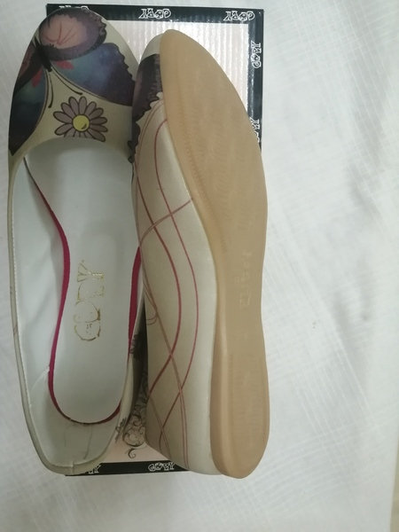 Used Flat Leatherette Goby Shoes size 38 in Dubai, UAE