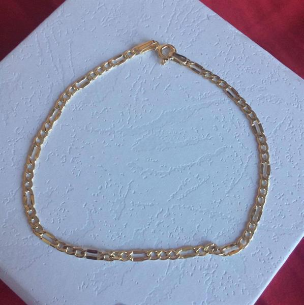 Used Bracelet 18 carat gold with 1.12 grams and 7.5 length in Dubai, UAE