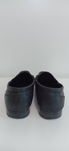 Used Duchini Black Men's Shoes in Dubai, UAE