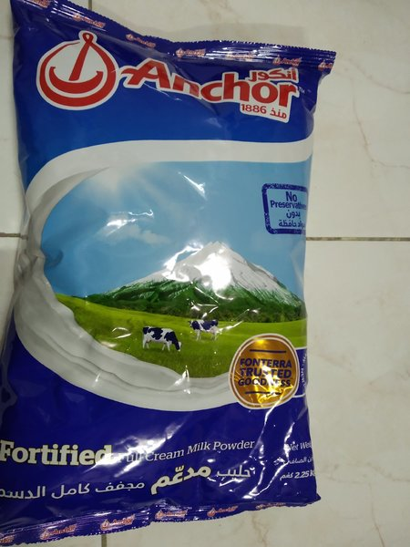 Used Anchor milk powder 2.25kg in Dubai, UAE