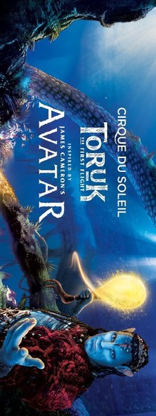 Used 2 silver tickets for Cirque du soleil in Dubai, UAE