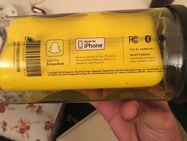 Used Brand New Snapchat Black Sunglasses Spectacles For All Iphones  in Dubai, UAE