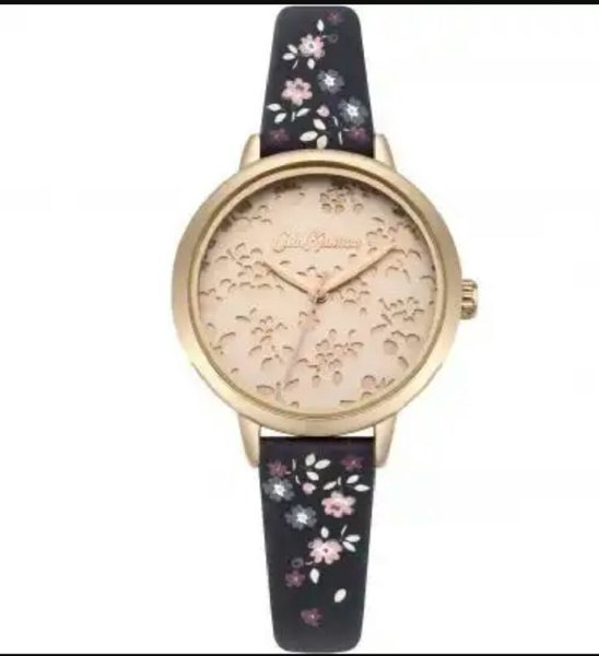 Used Cath Kidston watch black strap in Dubai, UAE