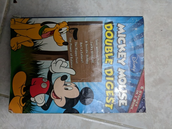 Used Tinkle Mickey Mouse Story Book in Dubai, UAE