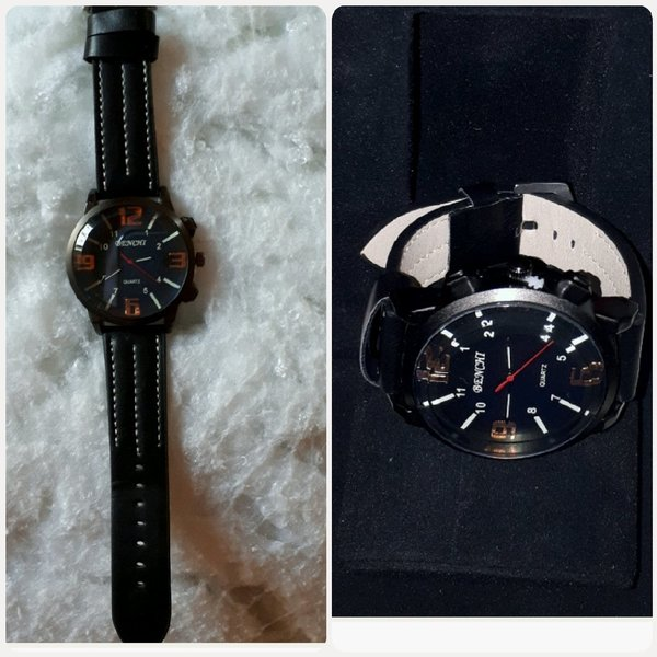 Used Watch black color NEW for man in Dubai, UAE