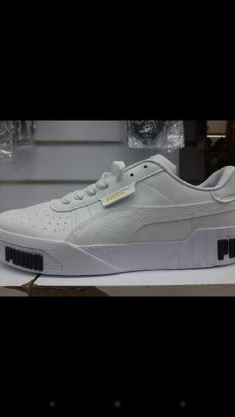 Used Puma white sneakers size 40 to 43 in Dubai, UAE