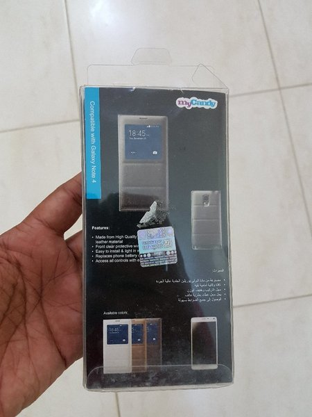 Used Note4 Filp Cover without chip in Dubai, UAE