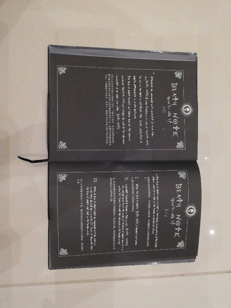Used The death note from 'death note' in Dubai, UAE