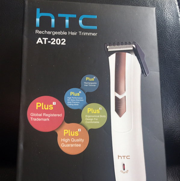 Used HTC Rechargeable Hair Trimmer..box Piece in Dubai, UAE