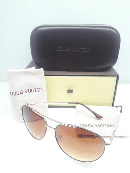 Used LV SUNGGLASES BROW COLOR in Dubai, UAE
