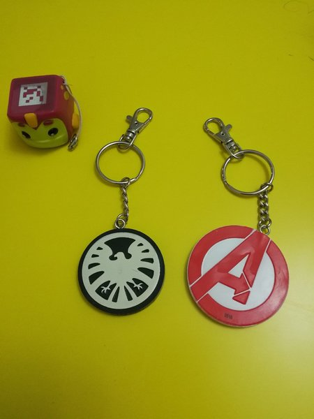 Used 3 New. Licensed Keychains and Smart toy in Dubai, UAE