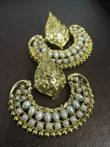 Used Deepika ramleela chandbali earrings in Dubai, UAE