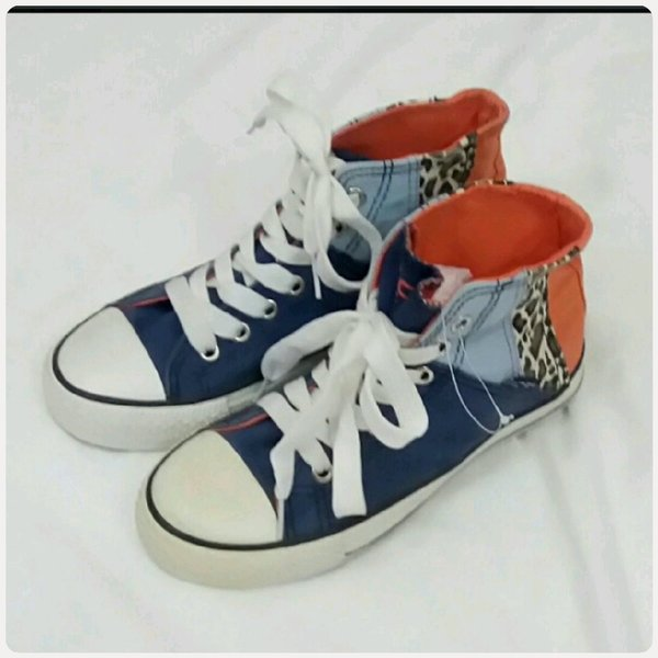 Used High cut mix colors Shoes size-36 in Dubai, UAE