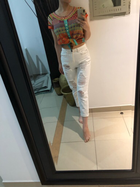 Used New pullandbear denim  in Dubai, UAE