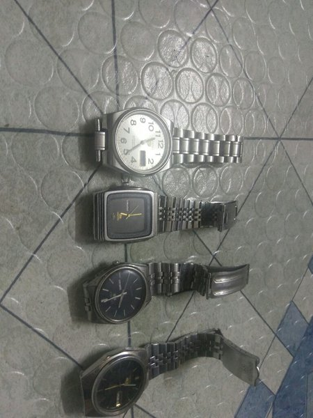 Used Seiko 5 watches in Dubai, UAE