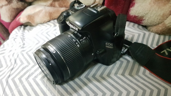 Used Canon 1100D DSLR in Dubai, UAE