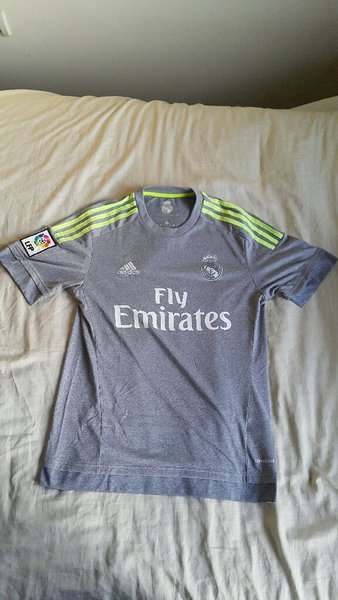 Used Real Madrid FC Adidas Original Jersey in Dubai, UAE