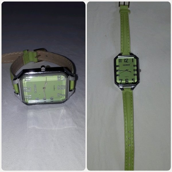 Used Watch Guess green color for woman in Dubai, UAE