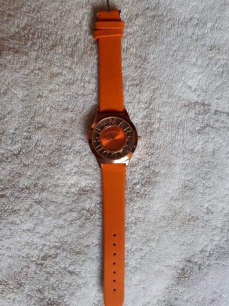 Used Watch rose gold orange in Dubai, UAE