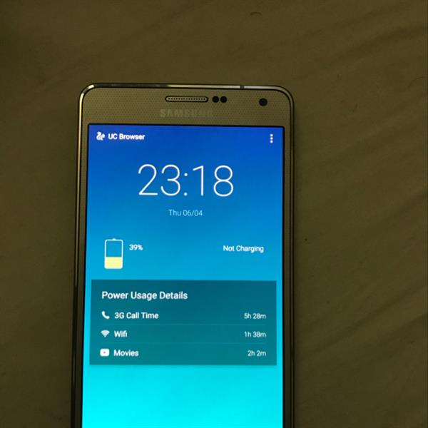 Used I'm Selling Galaxy's A7 Very Good Conditions Light Using 15 Days Old With Bill Box Complet in Dubai, UAE