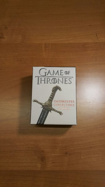 Used Game of Thrones 2 Swords,1 Book & 1 Flag in Dubai, UAE