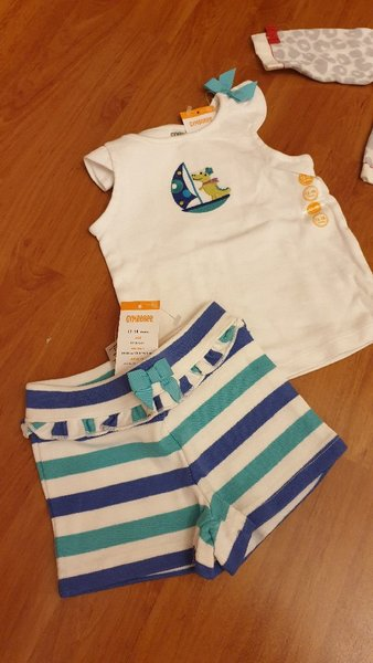 Used 2 sets for baby girl in Dubai, UAE