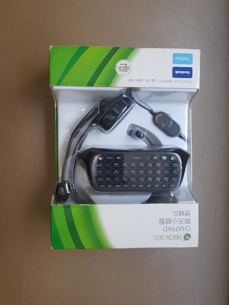 Used Xbox 360 chatpad with Headset in Dubai, UAE