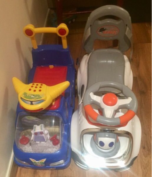 Used Toy Push Cars x 2 in Dubai, UAE