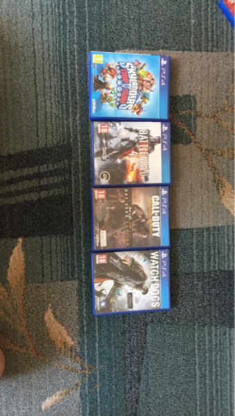 Used PS4 Action games  in Dubai, UAE
