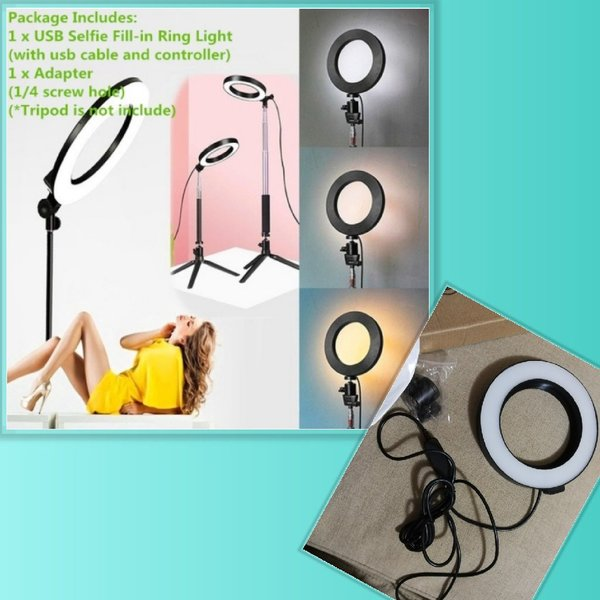 Used Selfi/ tiktok light ring in Dubai, UAE