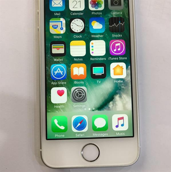 Used iPhone SE 64GB Silver, With Warranty Piece, Used Hardly 15-20 Days, Only Unit, No Accessories in Dubai, UAE