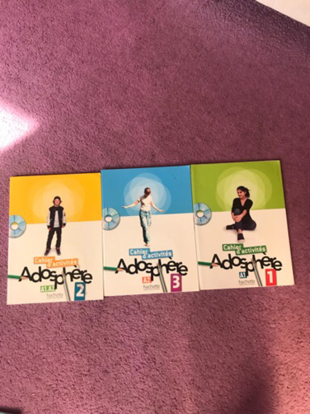 Used Adosphere french learning books/CD'S in Dubai, UAE