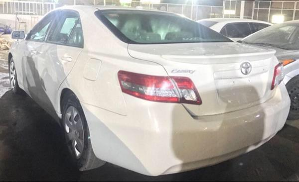 Used Toyota Camry 2011 Model White Color Black Interior Excellent Condition Contact 0507045995 in Dubai, UAE