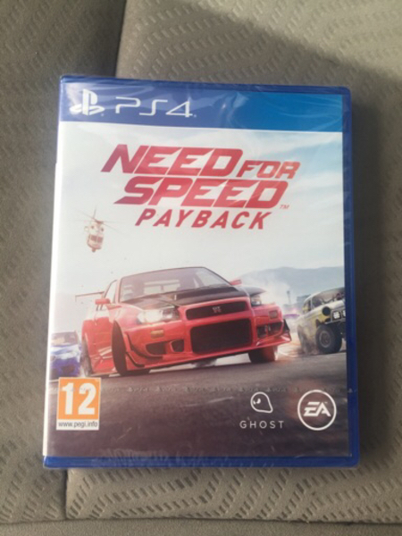 Used PS4 Need for speed payback in Dubai, UAE