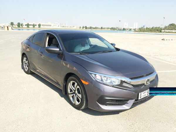 Used Honda Civic New Shave Like New Scratch Less,, For More Info,,0508085165 in Dubai, UAE