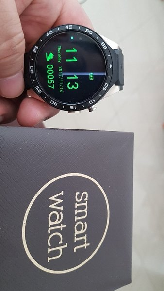 Used 2017 Kingwear Kw88 SmartWatch android 5. in Dubai, UAE