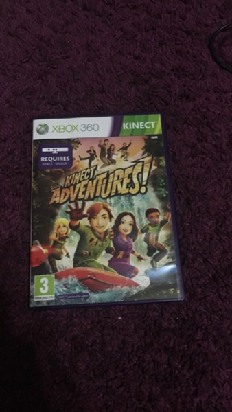 Used Xbox 360 Kinect with 1 game in Dubai, UAE