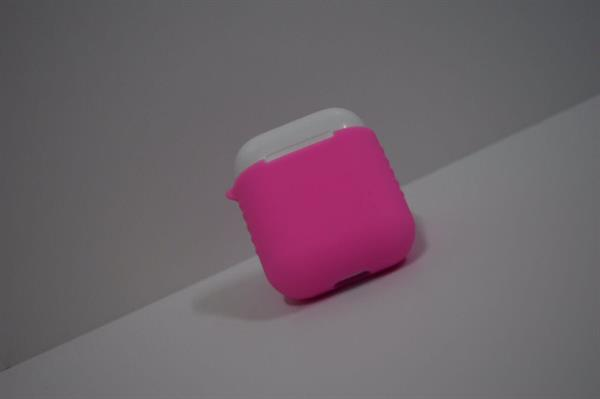 Used Cover For AirPods Pink  in Dubai, UAE
