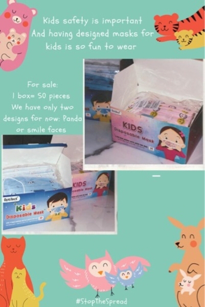 Used Kids face mask in Dubai, UAE