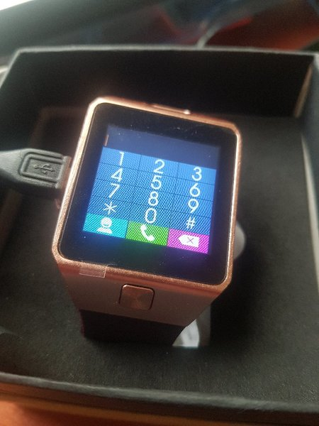Used smart watch Z09 sim in Dubai, UAE