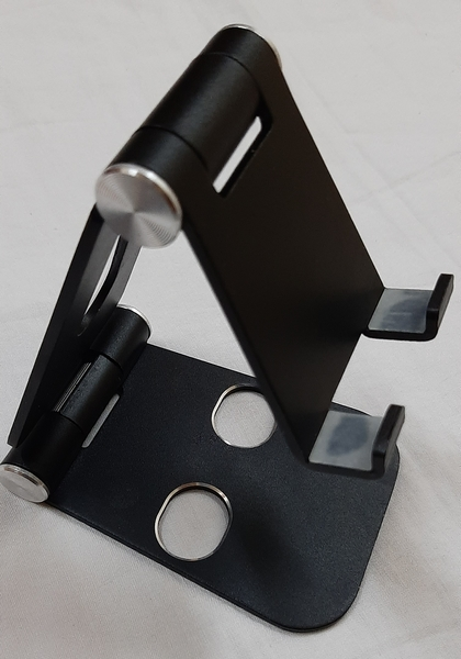 Used Foldable phone and tablet stand, black in Dubai, UAE