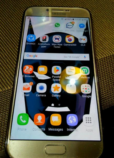 Used Samsung A8 6 New  Only Few Months With Bill  in Dubai, UAE