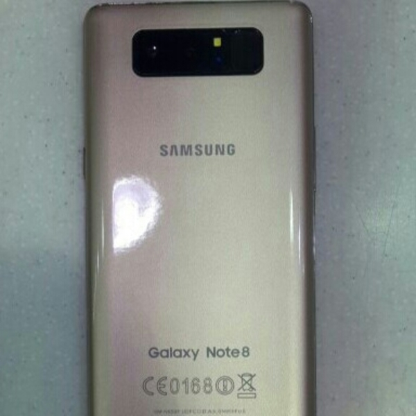 Used Samsung Galaxy Note 8 Made In Vietnam Box Pack in Dubai, UAE