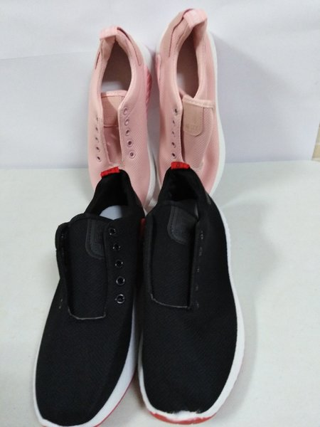 Used Sneakers - Black and Peach 2pcs, Size 37 in Dubai, UAE