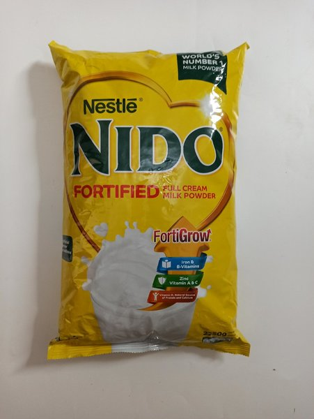 Used NIDO MILK POWDER 2.25 KG exp- 9/20  #ZB1 in Dubai, UAE