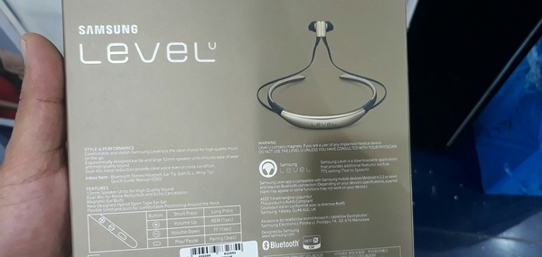 Used Samsung Level U Bluetooth Stereo Headset Original  in Dubai, UAE