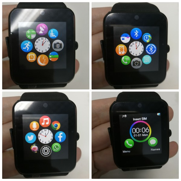 Used New smart watch black color in Dubai, UAE