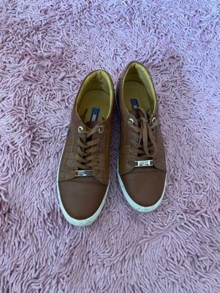Used Brown sneakers from US Polo in Dubai, UAE