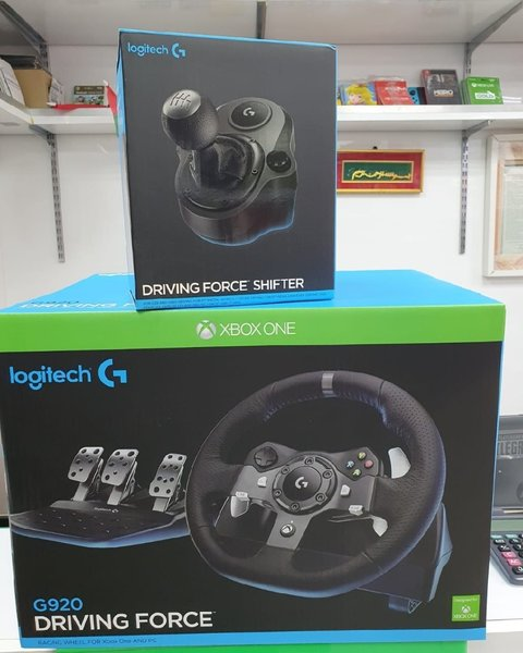 Used Logitech Driving Force GT with Gear Xbox in Dubai, UAE